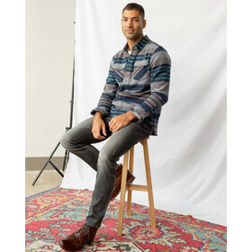 United By Blue The Responsible Flannel Débardeur Homme, brownstone
